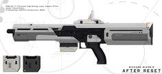 Laser Pistol Concept Expands on laser pistols,