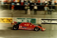 Gilles Villeneuve- United States Grand Prix at Long Beach, 1981.