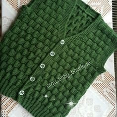 KABARTMALI BEBEK YELEĞİ - Erkek Bebek Yeleği Yapılışı / Knit Baby Vest Knitting , lace processing is the most beautiful hobbies that females are unable to give up. Baby Boy Knitting Patterns, Knitting For Kids, Crochet For Kids, Knitting Designs, Cable Knit Hat, Baby Coat, Baby Boutique, Baby Dress, Knitted Hats