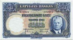 50 Latu 1934 (Ulmanis)