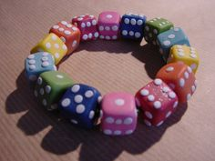 Dice bracelet by Night93.