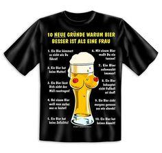 10 neue Gründe... T-Shirt. Hier bei www.closeup.de