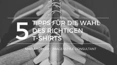 Dieses Video ist über die 5 Dinge, die Du im Auge behalten solltest, wenn Du dein T-Shirt auwählst.