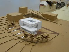 New Design Cafe Concept Projects Ideas Concept Models Architecture, Architecture Model Making, Architecture Courtyard, Open Architecture, Architectural Design Studio, Cafe Concept, Casa Patio, 3d Modelle, Arch Model