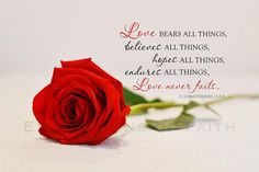 Monday Morning Quotes Discover Love Never Fails Scripture Wall Art 1 Corinthians 13 Canvas Bible Verse Wall Art Love Print Love Wall Art Wood Expressions of Faith Love Bears All Things, Things To Come, Love Scriptures, Bible Verses, Bible Quotes, Qoutes, Biblical Quotes, Faith Quotes, True Quotes