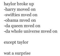 I'm so shocked. -H