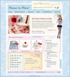 boutique website templates - Google Search | Cute Websites and ...