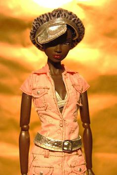 Nadja Urban Outfitting with Fashion Fever Barbie Dress by Pumuckito, via Flickr