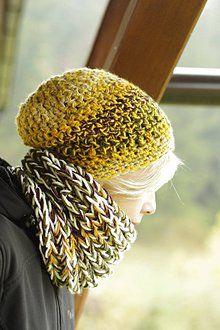 Čiapky - úsmev javorového listu:) čiapka k nákrčníku babušníku - 7298750_