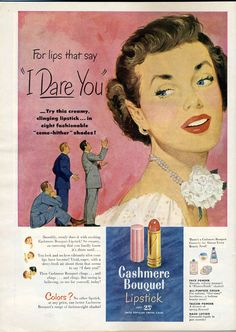 """Cashmere Bouquet Lipstick 1949 