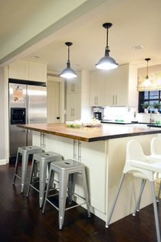 Ikea kitchen cabinets.  House Crashing in Cincinnati! | Young House Love