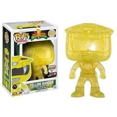 Yellow Ranger (Morphing) Pop Vinyl Pop Television Mighty Morphin Power Rangers | Pop Price Guide