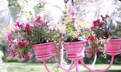 diy kroonluchter bloemen - stap 5.2