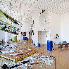 PROCESSUS - Emmanuelle Lainé, BIENNALE d'art contemporain Lyon 2015