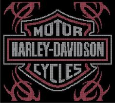 Harley Davidson - F35 via Loopaghans Custom Crochet. Click on the image to see more!