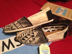 Hand Painted TOMS