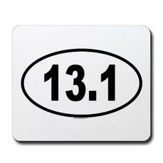I DID IT!! it's official!  I ran my first 13.1 today!!  i thought my pinterest needed a sticker for it! ;)