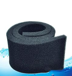 Color: black. Size: (approx.) 50x10x2cm (L*W*H) Package include: 1x filter biochemical cotton Advise: Replace the bio-sponge three month to ensure the filtrating effect as well as the growth of the ...