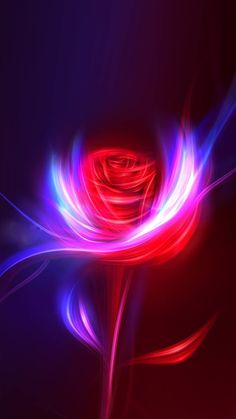 Fantasy Rose Swirl Light Design Art #iPhone #6 #plus #wallpaper