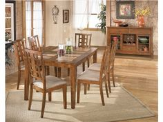 Shop For Signature Design Tucker 7 Piece Dining Set. Includes Table And Six  Side