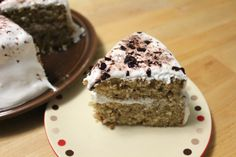 Root Beer Float Cake with Marshmallow Icing