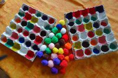 Voor de kleuterfase is dit enkelvoudig ordenen vanwege de kleur en de vorm