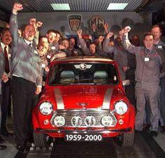 2000 Mini Cooper SE the last ever Mini