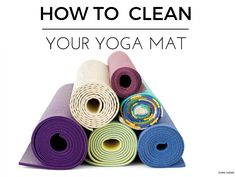 How to clean your mat