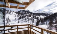 Hotel Névalhaia Le Chalet in Vars, France #hotel #chalet #ski #panorama