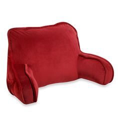 Back to Basics Whether typing a research paper, reading a book or catching up on favorite shows, your kid will sit comfortably with the Plush Backrest ($25, bedbathandbeyond.com).