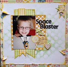 Like this cute layout by Wendy smith
