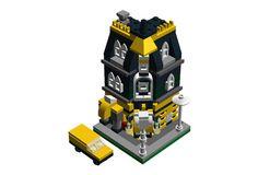 Mini Modular Corner Post Office: A LEGO® creation by Michael Elwin Setiadi : MOCpages.com
