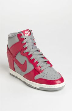 Nike 'Dunk Sky Hi' Wedge Sneaker. Love the color. I think i might get a pair.