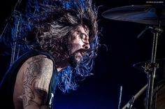 Dave Grohl drums.
