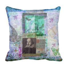 Shakespearequotes: Throw Pillows: Zazzle.com Store