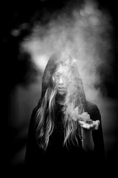 """Three Rivers Deep (book series) """"A two-souled girl begins a journey of self discovery. Smoke Photography, Creepy Photography, Inspiring Photography, Season Of The Witch, Mystique, Love Spells, Magic Spells, Dark Beauty, Occult"""