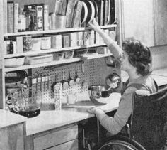 Historical Study: Kitchens for Women in Wheelchairs (1960)