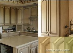 faux painting kitchen cabinets colors   Glazing Kitchen Cabinets   Kitchen Cabinet Reviews