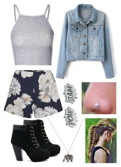 """""""Ootd"""" by jenn-tomlinson ❤ liked on Polyvore featuring Glamorous, Accessorize, Finders Keepers, Edge Only, women's clothing, women, female, woman, misses and juniors"""