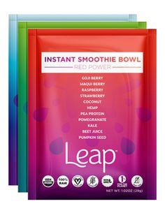 6oz Red Power Bowl - Leap | Organic Vegetable & Fruit Smoothie