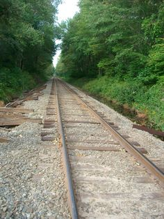 Rail road tracks...