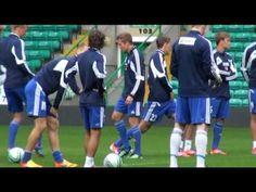 Sebastin Sorsa talks about match against Celtic (In Finnish)