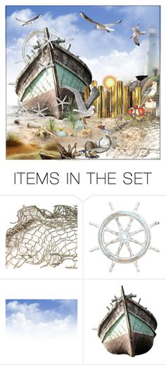 """""""On the beach"""" by frenchfriesblackmg ❤ liked on Polyvore featuring art"""