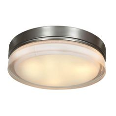 "Access Lighting 20776LED 1 Light 11"" Wide LED Flush Mount Ceiling Fixture from t Br"