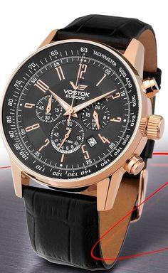 Vostok-Europe Gaz-Limo Quartz Chronograph Watch OS22/5619133