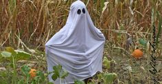 This summer when I started sewing again, my son RJ started asking for a ghost costume and pulled out any white fabric from my stash.  ...