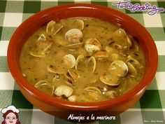 Almejas a la marinera Tapas, South American Dishes, Basque Food, Seafood Recipes, Cooking Recipes, My Favorite Food, Favorite Recipes, Chilean Recipes, Spanish Dishes