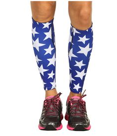 ASICS Asics Printed Calf Sleeve  I think I might need to get these and find a 4th of July race to run.