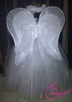 Angel Costume Back