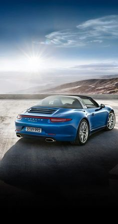 The new Porsche #911Targa4: 3.4 litre flat-6 engine, 257 kW (350 hp) at 7,400 rpm. It accelerates from 0 to 100 km/h in 5.2 seconds and reaches a top speed of 282 km/h. Learn more: http://link.porsche.com/targa?pc=9915XPINGA *Combined fuel consumption in accordance with EU 6: 10.0 - 8.7 l/100km; 237 - 204 g/km.